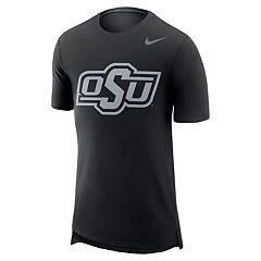 Men's Nike Oklahoma State Cowboys Enzyme Droptail Tee