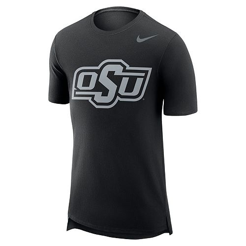 Men's Nike Oklahoma State Cowboys Enzyme Droptail Tee