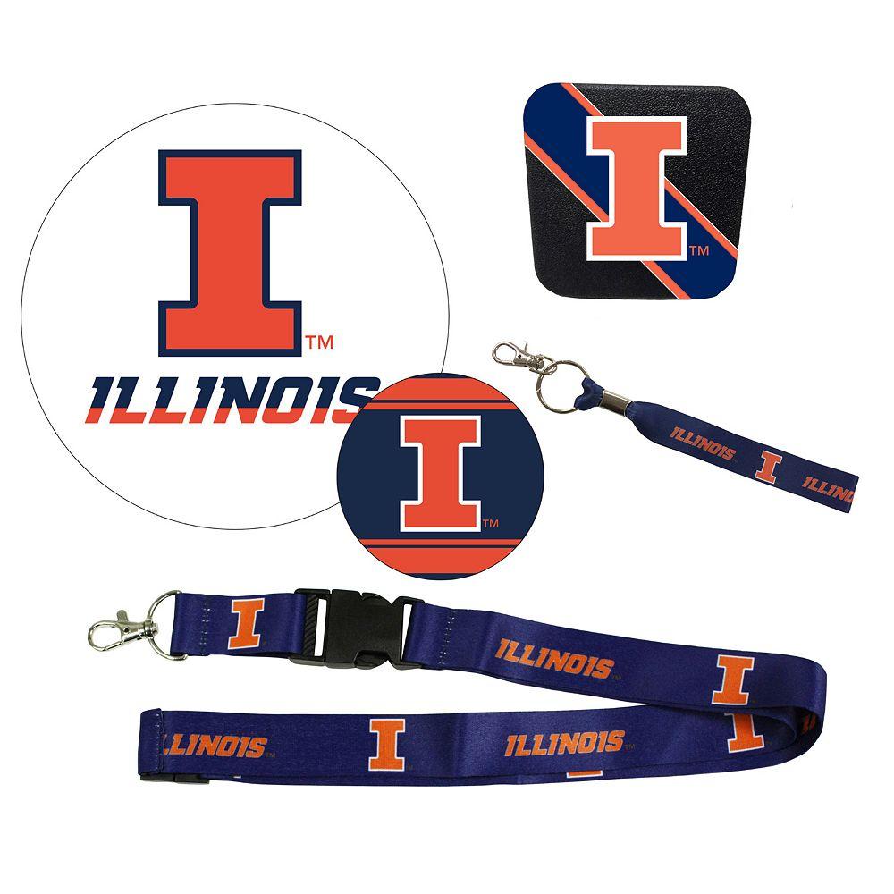 Illinois Fighting Illini Auto Pack