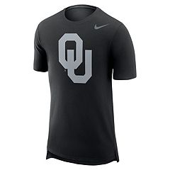 Men's Nike Oklahoma Sooners Enzyme Droptail Tee
