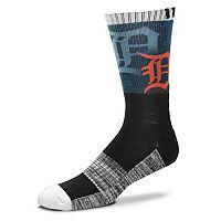 Adult For Bare Feet Detroit Tigers Blackout Socks