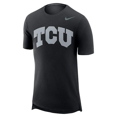 Men's Nike TCU Horned Frogs Enzyme Droptail Tee