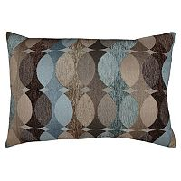 Spencer Home Decor Hyper Geometric Jacquard Oblong Throw Pillow