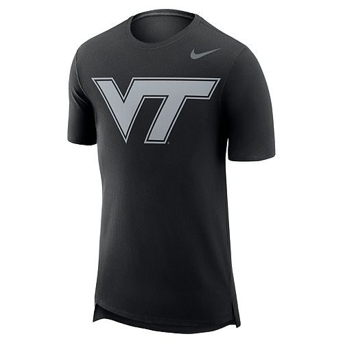 Men's Nike Virginia Tech Hokies Enzyme Droptail Tee
