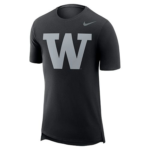 Men's Nike Washington Huskies Enzyme Droptail Tee
