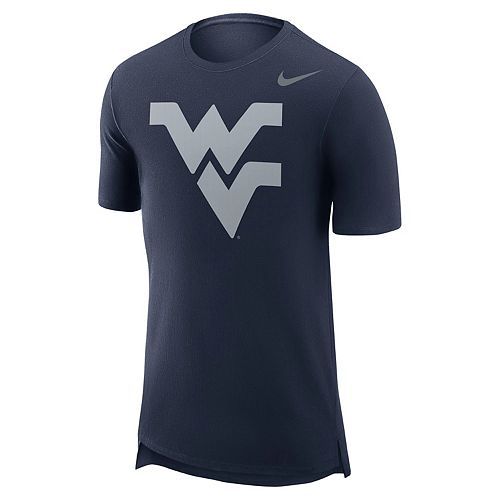 Men's Nike West Virginia Mountaineers Enzyme Droptail Tee
