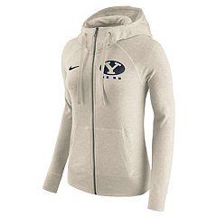 Women's Nike BYU Cougars Gym Vintage Hoodie