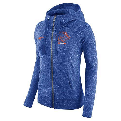 Women's Nike Boise State Broncos Gym Vintage Hoodie