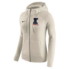Women's Nike Illinois Fighting Illini Gym Vintage Hoodie