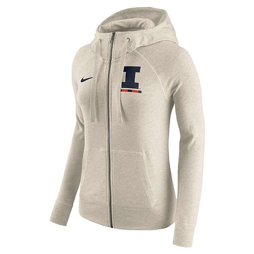 Women's Nike Illinois Fighting Illini Gym Vintage Hoodie