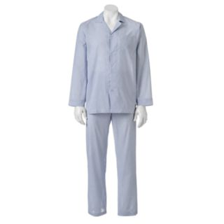 Men's Chaps Patterned Broadcloth Pajama Set