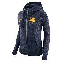Women's Nike Michigan Wolverines Gym Vintage Hoodie