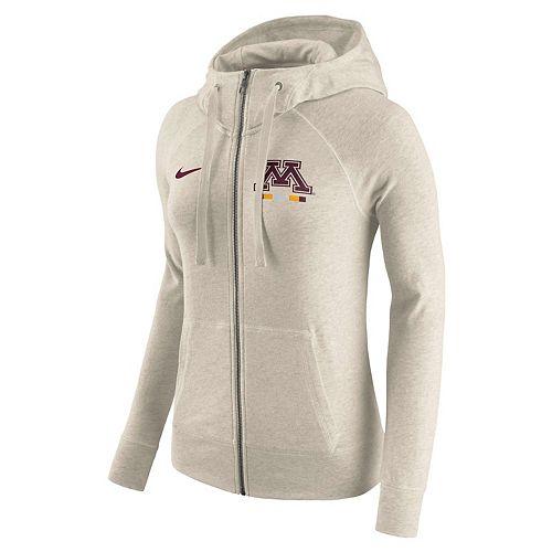 Women's Nike Minnesota Golden Gophers Gym Vintage Hoodie