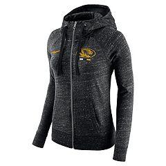Women's Nike Missouri Tigers Gym Vintage Hoodie