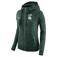 Women's Nike Michigan State Spartans Gym Vintage Hoodie