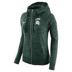 Women's Nike Michigan State Spartans Gym Vintage Hoodie