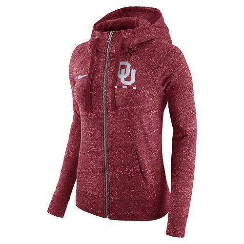 Women's Nike Oklahoma Sooners Gym Vintage Hoodie