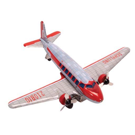 Schylling DC-3 Spinning Propeller Airplane