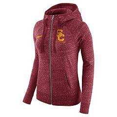 Women's Nike USC Trojans Gym Vintage Hoodie