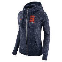 Women's Nike Syracuse Orange Gym Vintage Hoodie