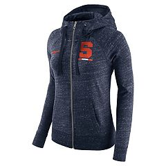 Women's Nike Syracuse Orange Gym Vintage Hoodie