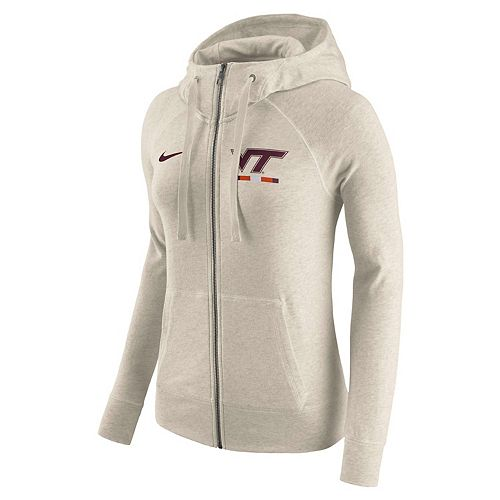 Women's Nike Virginia Tech Hokies Gym Vintage Hoodie