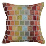 Spencer Home Decor Ladders Geometric Jacquard Throw Pillow