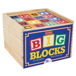 Schylling 48-pc. Large ABC Blocks Set