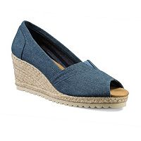 Skechers Cali Monarchs Women's Espadrille Wedges