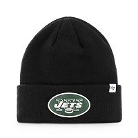 Adult '47 Brand New York Jets Cuffed Beanie