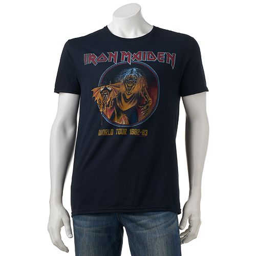 a6400858c674fc Men s Iron Maiden World Tour Tee