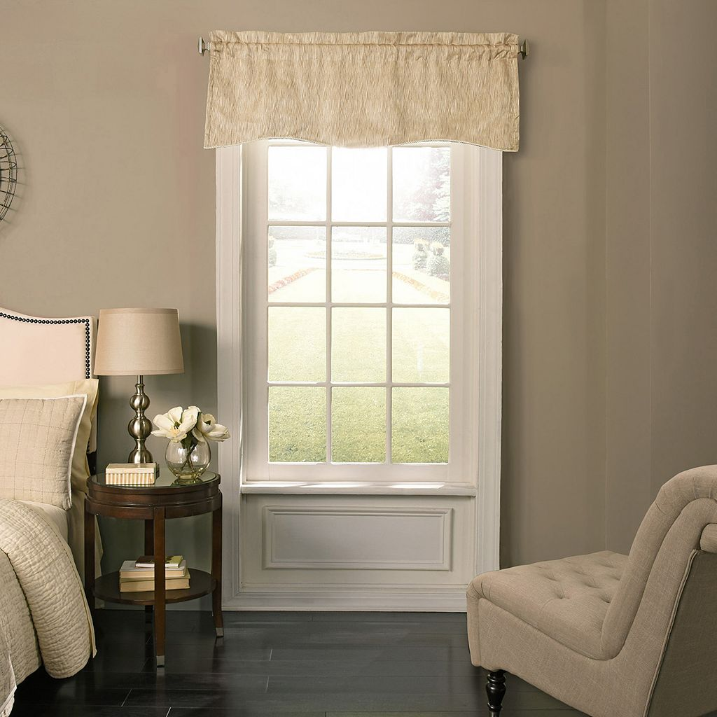 Beauty Rest Barrou Blackout Window Valance