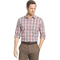 Big & Tall Van Heusen Plaid Stretch Button-Down Shirt