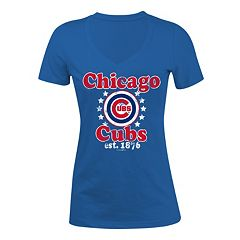Women's 5th & Ocean Chicago Cubs Jersey Tee