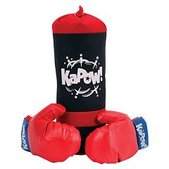 Schylling Punching Bag & Glove Set