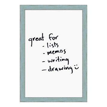 Amanti Art Distressed Framed Dry Erase Board Wall Decor