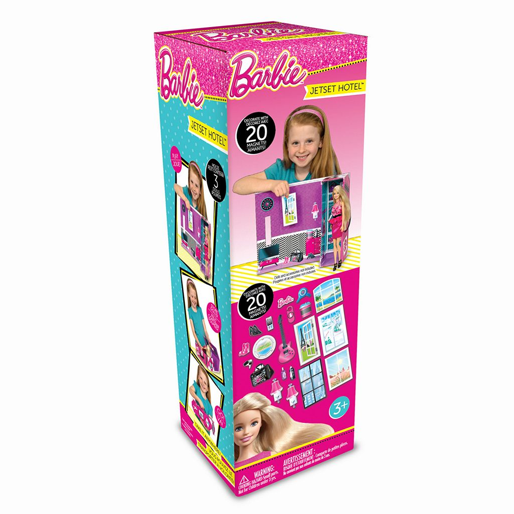Neat-Oh! Barbie Jet Set Hotel & Decorator Magnets