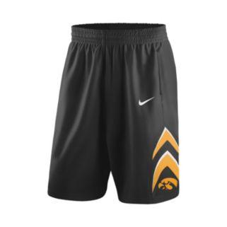 Men's Nike Iowa Hawkeyes Rep Basketball Shorts