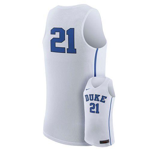 Men's Nike Duke Blue Devils Rep Basketball Jersey