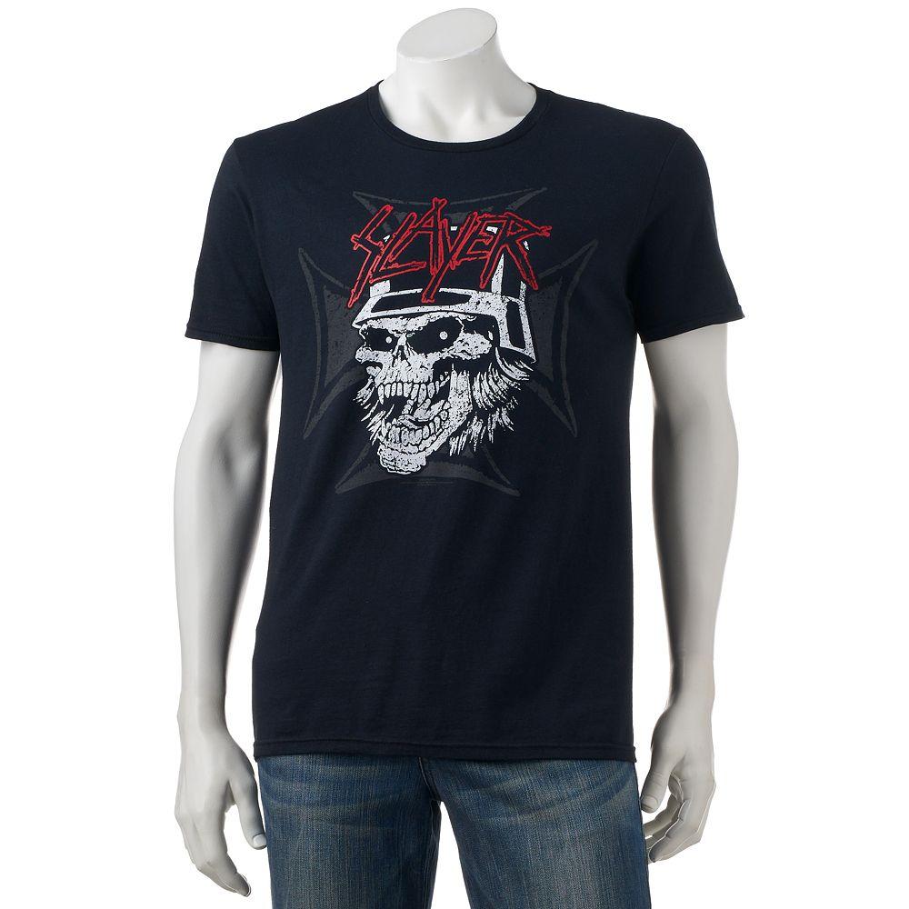 Black t shirts kohls - Men S Slayer Tee