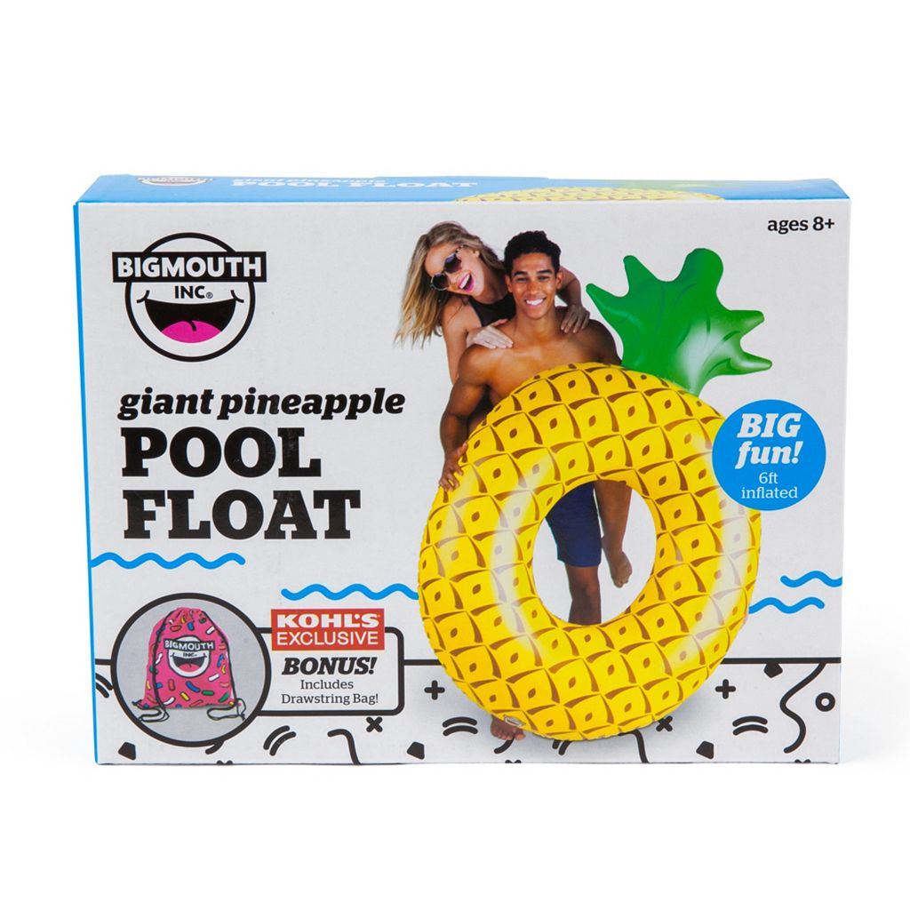 Big Mouth Inc. 72-inch Giant Pineapple Pool Float