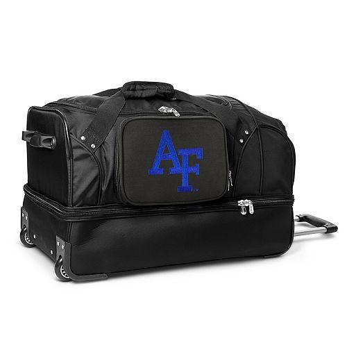Air Force Falcons 27-Inch Wheeled Drop-Bottom Duffle Bag