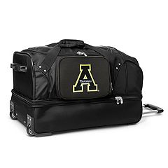 Appalachian State Mountaineers 27-Inch Wheeled Drop-Bottom Duffle Bag