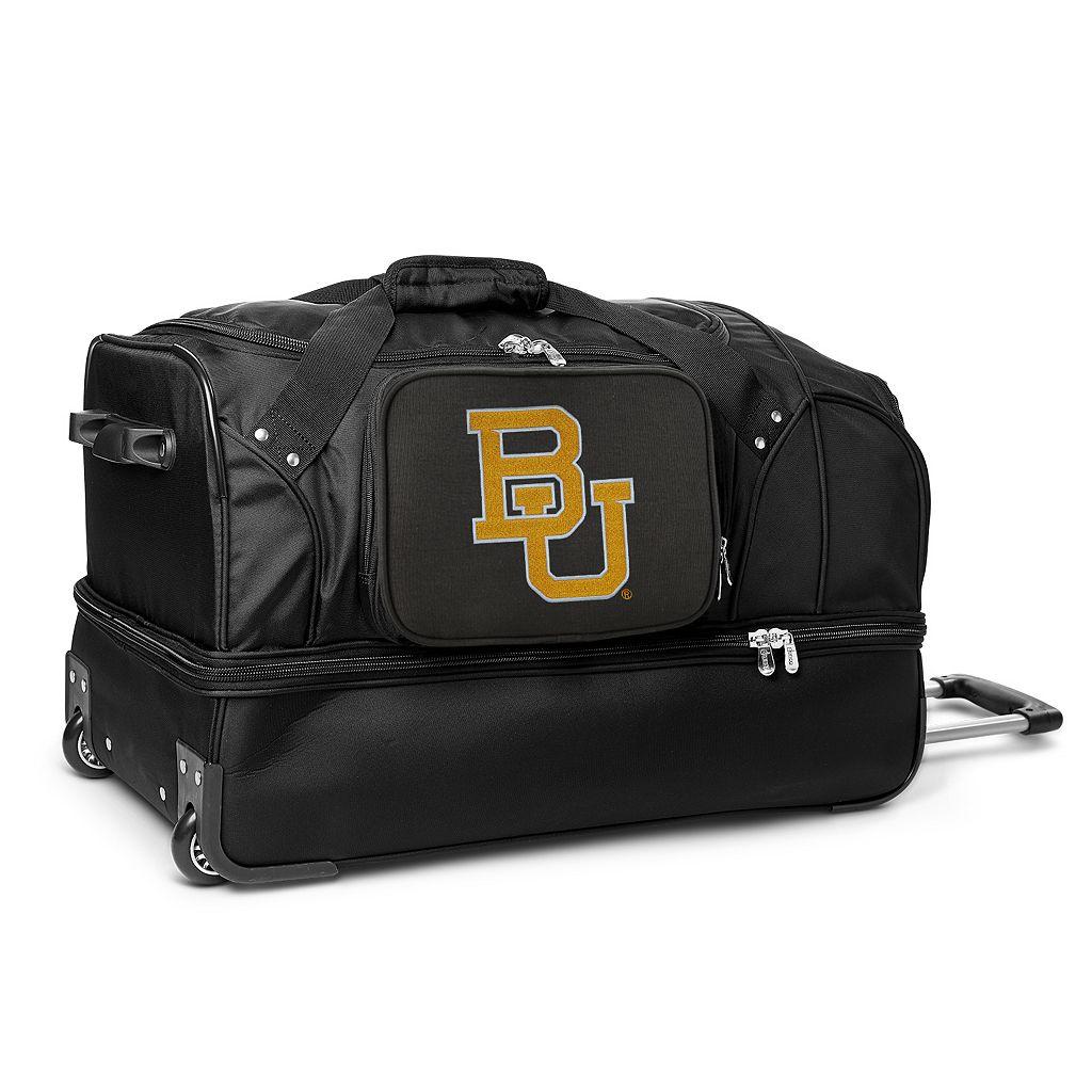 Baylor Bears 27-Inch Wheeled Drop-Bottom Duffle Bag