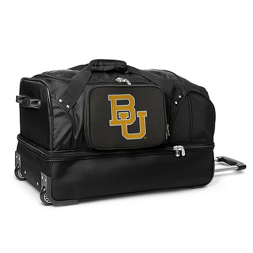 Baylor Bears 27-Inch Wheeled Drop-Bottom Duffle Bag