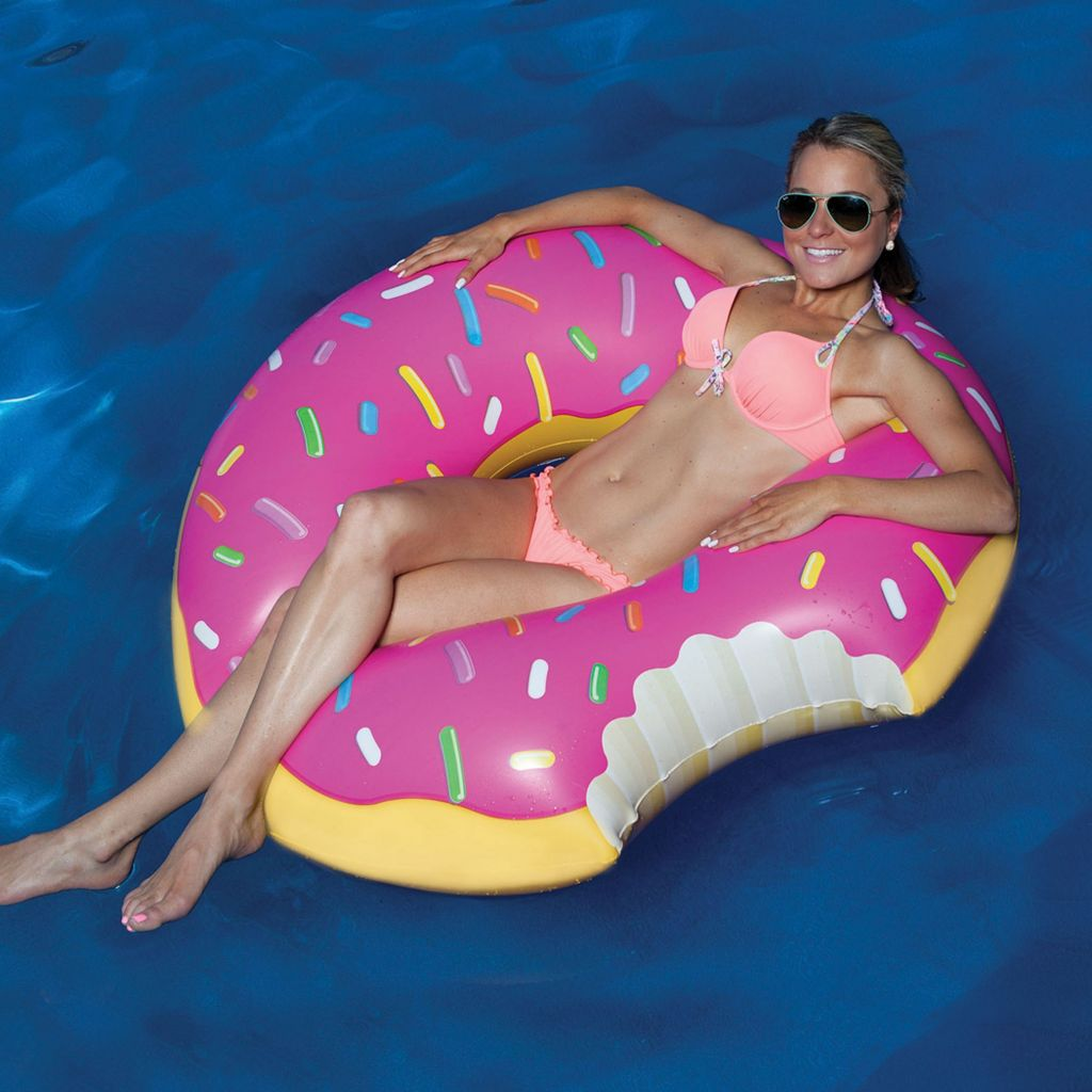 Big Mouth Inc. 47-inch Strawberry Donut Pool Float
