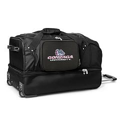 Gonzaga Bulldogs 27-Inch Wheeled Drop-Bottom Duffle Bag