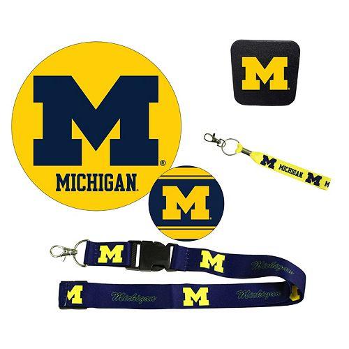 Michigan Wolverines Auto Pack