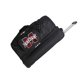 Mississippi State Bulldogs 27-Inch Wheeled Drop-Bottom Duffle Bag