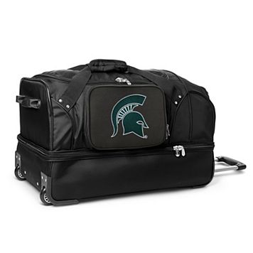 Michigan State Spartans 27-Inch Wheeled Drop-Bottom Duffle Bag